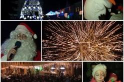 """""""Magia sărbătorilor"""" a ajuns, cu întârziere, și la Dej. 2.500 de oameni, prezenți în Piața Bobâlna! – FOTO/VIDEO"""