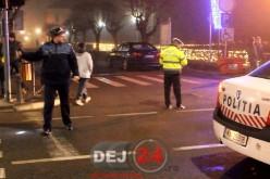 Tânără lovită de mașină, pe o trecere de pietoni din Gherla – VIDEO