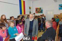 Școala Gimnazială Specială Dej, vizitată de Moș Nicolae – FOTO