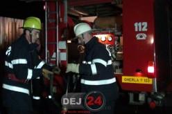 Pompierii din Dej au intervenit, azi-noapte, la un incendiu în Nima