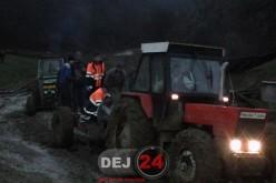 A ajuns la spitalul din Dej după ce s-a accidentat în pădure – FOTO/VIDEO