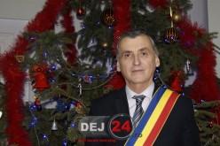 Mesajul primarului din Dej, Morar Costan, cu ocazia sărbătorilor de iarnă – FOTO/VIDEO