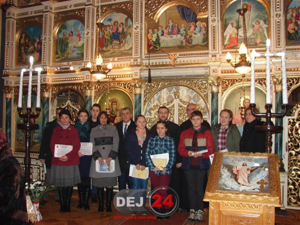 Olimpici din Dej premiati de catre biserica (3)