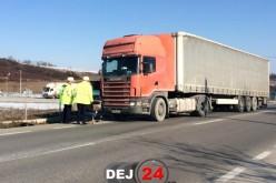 ACCIDENT între Ciceu Mihăiești și Bața. Un biciclist a fost lovit de TIR – FOTO/VIDEO