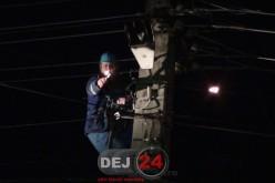 Incendiu în Dej. Pompierii, solicitați să intervină – FOTO/VIDEO