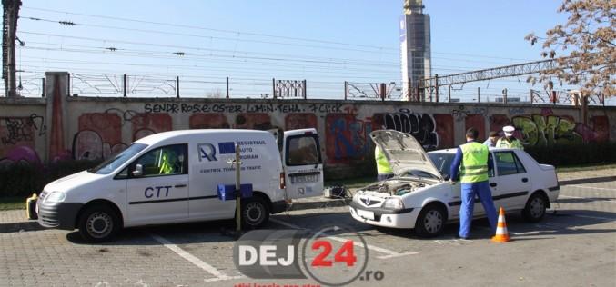 Polițiștii din Dej, acțiune preventivă, alături de inspectori RAR, la Cuzdrioara