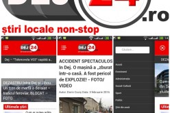 Dej24.ro, SINGURUL site de știri din Dej cu APLICAȚIE MOBILĂ (P)