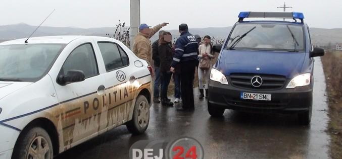 Bărbat găsit MORT pe un câmp de lângă Dej. Era DISPĂRUT de câteva zile – VIDEO