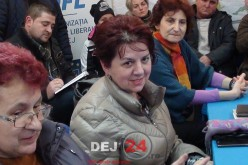 Locuitorii din Dej au participat la o dezbatere privind blocul V03, la sediul PNL – FOTO/VIDEO