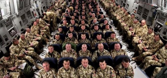Primii militari din Dej, întorși din misiunea din Afganistan – FOTO