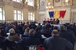 Întâlnire de lucru la Dej, cu reprezentanții autorităţilor publice locale din zonă – FOTO/VIDEO
