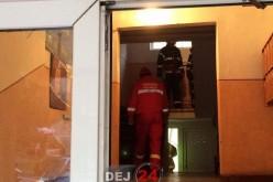 Dej – Pompierii, polițiștii și un echipaj SMURD, trimiși la un posibil incendiu – FOTO