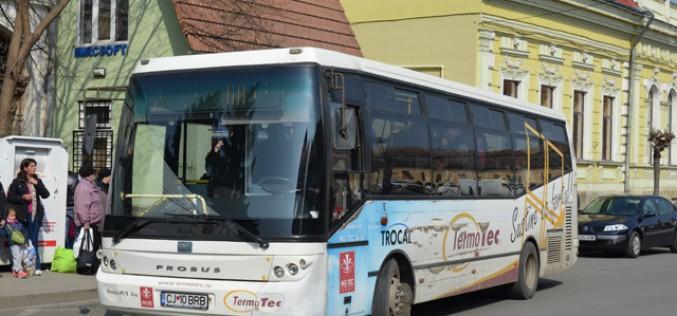 DEJ | Șoferul unui autobuz TRANSURB, BEAT la VOLAN! A provocat un accident și a părăsit locul faptei