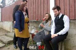 Asociația Filantropia Ortodoxă Dej, surpriză pentru doamnele vârstnice din municipiu – FOTO