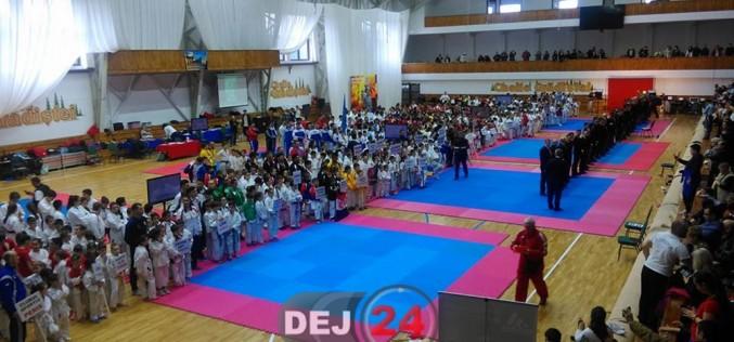 Șapte medalii pentru Budokan Ryu Dej la Cupa Napoca la Karate WUKF