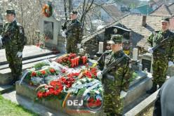 Dej | Ieri a fost comemorat maiorul (p.m.) Iuliu-Vasile Unguraș, căzut la datorie în 2009 – FOTO