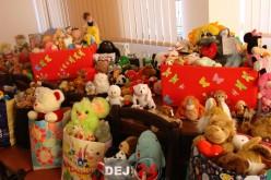 """Dej   Campania """"Fă o bucurie cu o jucărie"""", un real succes. Organizatorii au decis prelungirea ei – FOTO"""