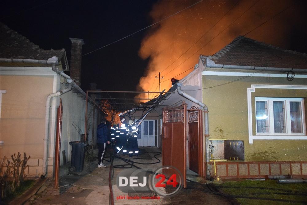 Incendiu casa Gherla (1)