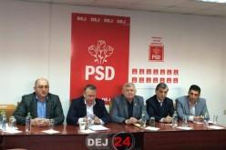 PSD Dej a prezentat oficial primii candidați la primăriile din zonă – FOTO/VIDEO