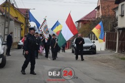 Ziua Maghiarilor de Pretutindeni a fost marcată astăzi și la Dej – FOTO/VIDEO