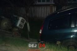 Accident în Bața. A ajuns cu mașina în șanț – FOTO
