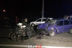 ACCIDENT RUTIER la Bața, cu 4 mașini implicate. Două persoane au fost rănite – FOTO/VIDEO