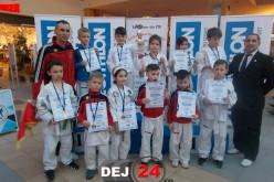 Micii sportivi de la CS Vulturii Dej, 13 medalii la Cupa Impact-Decathlon