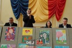 Expoziție de pictură și lansarea unei cărți speciale, la Dej – FOTO/VIDEO