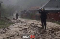 După ploi, inundațiile. Se instituie COD GALBEN pe râul Someș