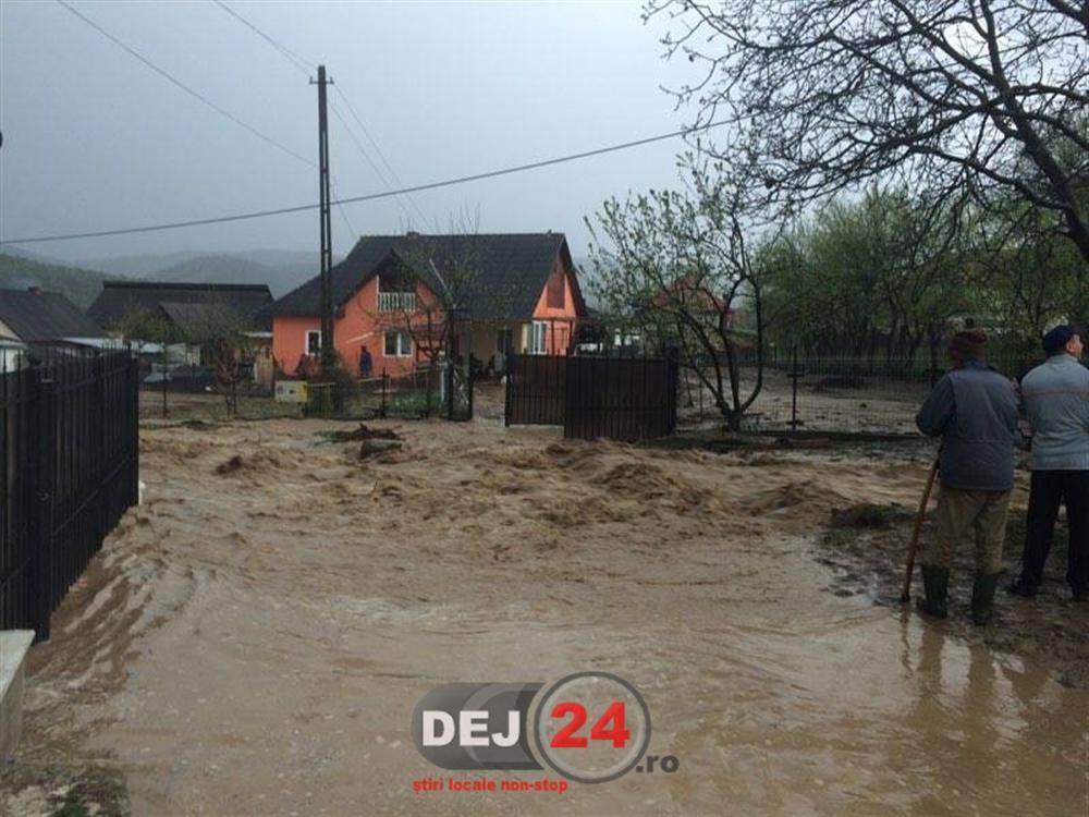 Inundatii în apropiere de Dej (5)