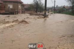 CLSU: COD GALBEN de INUDAȚII în zona municipiului Dej