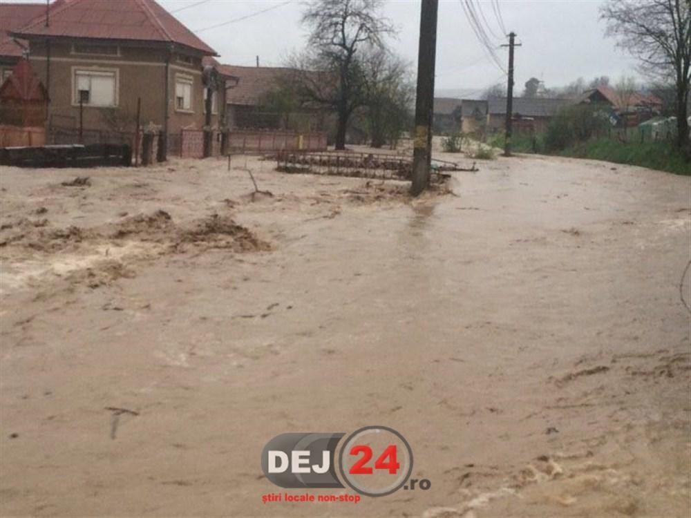 Inundatii-în-apropiere-de-Dej-7
