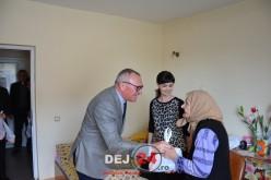 Dejeanul Marius Mînzat, acțiune de caritate la Câțcău și Gherla – FOTO