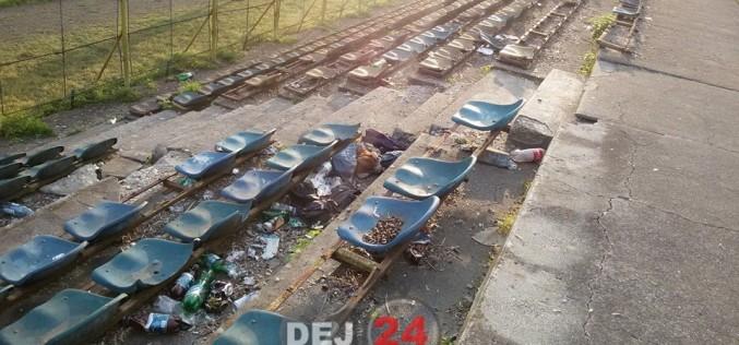 """Stadionul din Dej, ÎN PARAGINĂ! Paul Papp: """"Nu îmi voi duce fiica pe stadion!"""" – FOTO"""