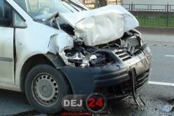 Accident de circulație, provocat de un șofer băut din Dej, în Cuzdrioara
