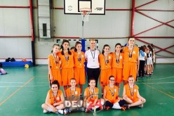 """Argint pentru echipa de baschet fete a CNAM Dej, la """"Cupa For You"""""""