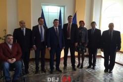 Vicențiu Știr (ALDE) și-a depus candidatura pentru Primăria Dej – FOTO/VIDEO