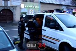 Percheziții în județul Cluj! Mascații au descins și la Dej! Vizate sunt firme care au în exploatare jocuri de noroc