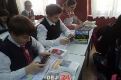 Pas cu pas spre era digitală la Şcoala Gimnazială Nr. 1 Dej – FOTO