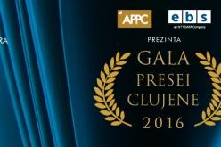 Gala Presei Clujene premiază cei mai buni jurnaliști din județul Cluj
