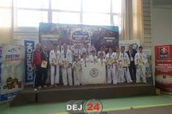 """Zeci de medalii pentru CS """"Vulturii"""" Dej la Open South-East European Championship – FOTO"""