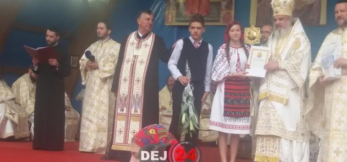 Elevi din Dej, premiați de patriarhul României – FOTO