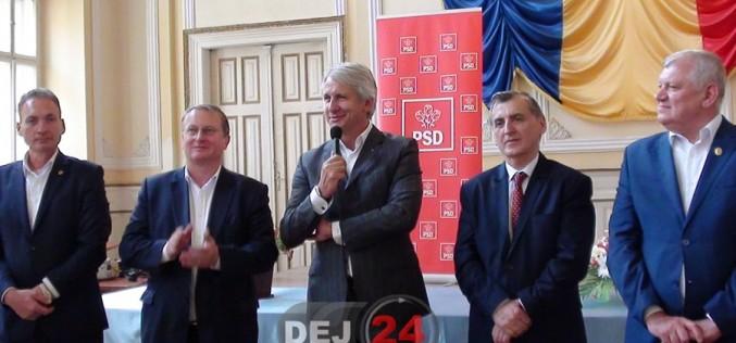 Fostul ministru al Fondurilor Europene, Eugen Teodorovici, prezent la Dej – FOTO/VIDEO (E)
