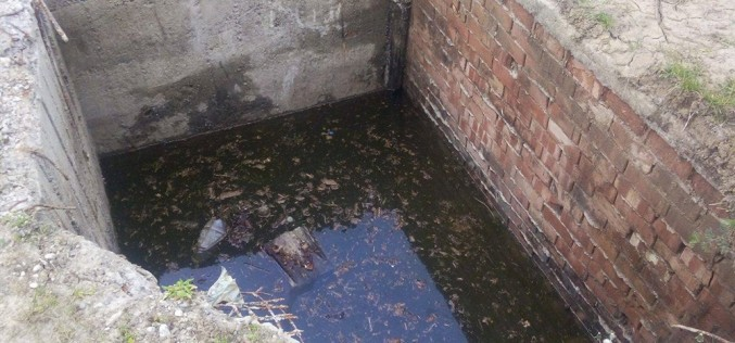 IGNORANȚĂ SAU INCOMPETENȚĂ? Fosa septică din Mănăstirea, în care a căzut o vacă, nu a fost acoperită de autorități – FOTO