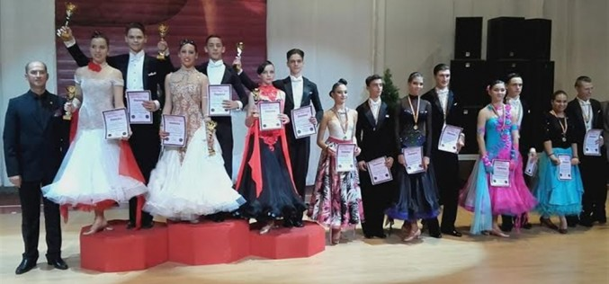 """Clubul de Dans Sportiv """"Latino Angels"""" Dej, un club de 10… medalii la cea mai recentă competiție – FOTO"""