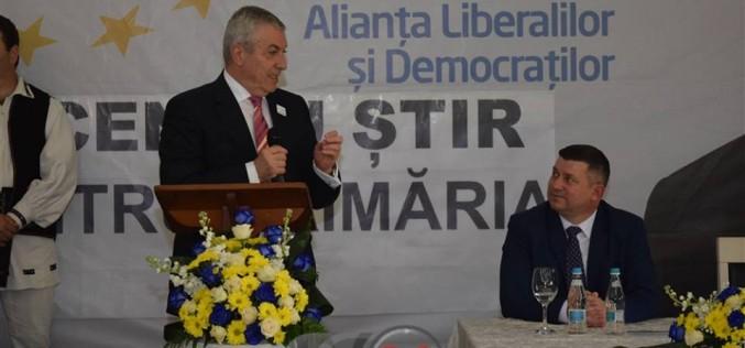 Călin Popescu Tăriceanu îl susține pe Vicențiu Știr (ALDE) la Primăria Dej – FOTO/VIDEO (E)