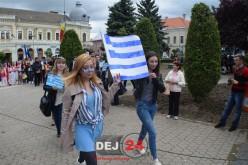 Ziua Europei a fost marcată, astăzi, și la Dej – FOTO/VIDEO