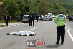 GRAV ACCIDENT la Beclean! Un biciclist a fost lovit MORTAL de un TIR