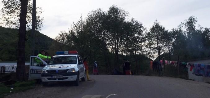 Doi bărbați au ajuns la spital după o bătaie cu topoare, în Poiana Blenchii – FOTO