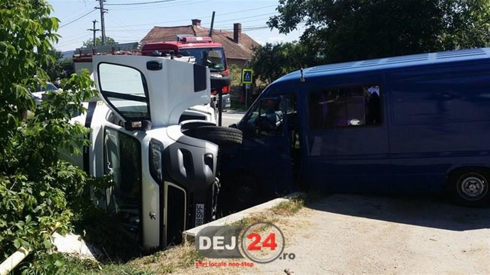 Accident Catcau autoutilitara (1)